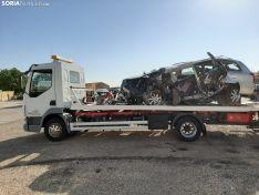 Accidente en la N122.
