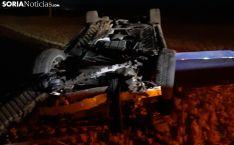 Accidente en la CL-101.