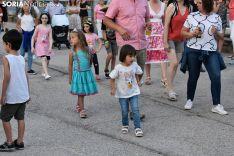Exhibición y baile country en Golmayo.