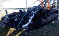 Explosión de una embarcación en la Playa Pita. SN