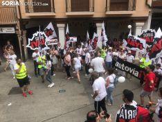 Concentración en Aranda por la marcha lenta por la Autovía dle Duero. /SN