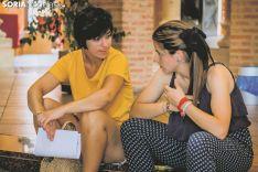 Casting para 'El Cid' en Almazán. Carmen de Vicente