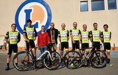 Escuadra ciclista de Soria. E.Leclerc Soria-Seguros Adolfo Rejas