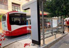 Nuevas marquesinas para el transporte urbano de Soria.