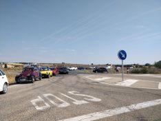Foto 5 - Cerca de 15 kilómetros de caravana y uno 500 vehículos en la marcha lenta para exigir la finalización de la Autovía del Duero