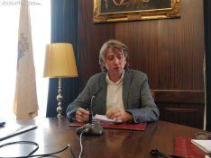Carlos Martínez, hoy, en rueda de prensa. SN