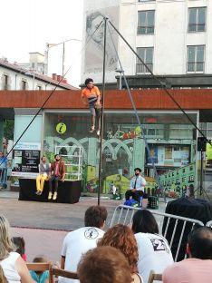 El teatro de calle continúa animando las plazas de Soria