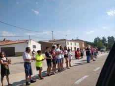 Foto 6 - Cerca de 15 kilómetros de caravana y uno 500 vehículos en la marcha lenta para exigir la finalización de la Autovía del Duero