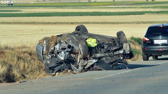Una imagen del estado del vehículo tras el siniestro. /SN