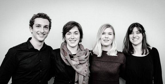 Cuarteto de cuerda residente en Holanda, Adorno Quartet.