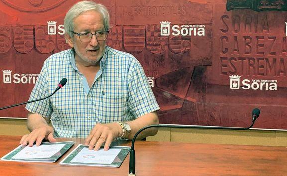 Jesús Bárez, concejal de Cultura.