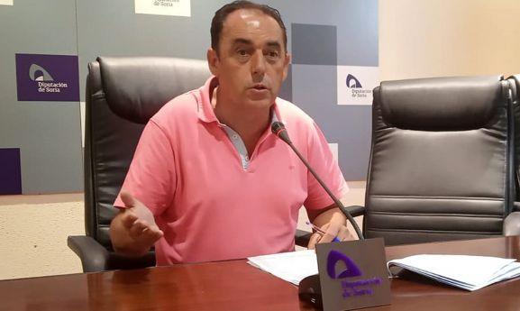 Benito Serrano, presidente de la Diputación.