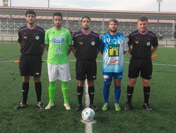 El Calasanz y la SD Almazán empataron a tres en el José Andrés Diago. CD Calasanz