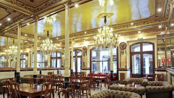 Interior del Casino de Soria. SN