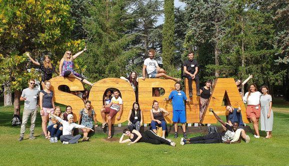 Una imagen del grupo en el parque de La Dehesa. /Cuerpo Europeo de Solidaridad