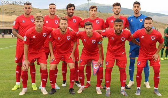 Numancia-Bilbao Athletic en Ágreda. /SN