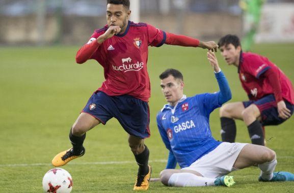Otegui, a punto de recalar en Los Pajaritos. Club Atlético Osasuna