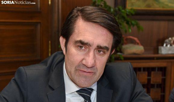 Juan Carlos Suárez-Quiñones, consejero de Fomento. /SN