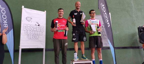 Rubén Andrés se hizo con la plata en el Triatlón MD 'Desafío Castilla y León' celebrado el la localidad vallisoletana de Medina de Rioseco