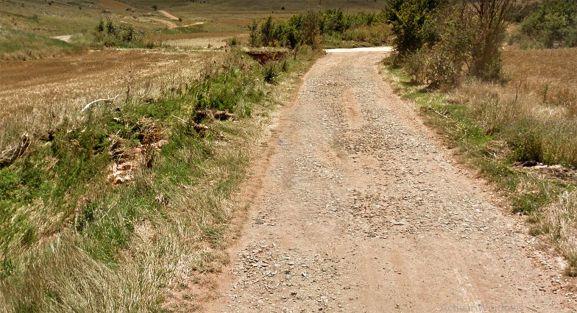Un camino rural en Tozalmoro. /GM