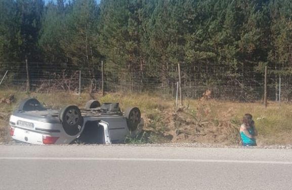 Accidente entre Duruelo y Covaleda.