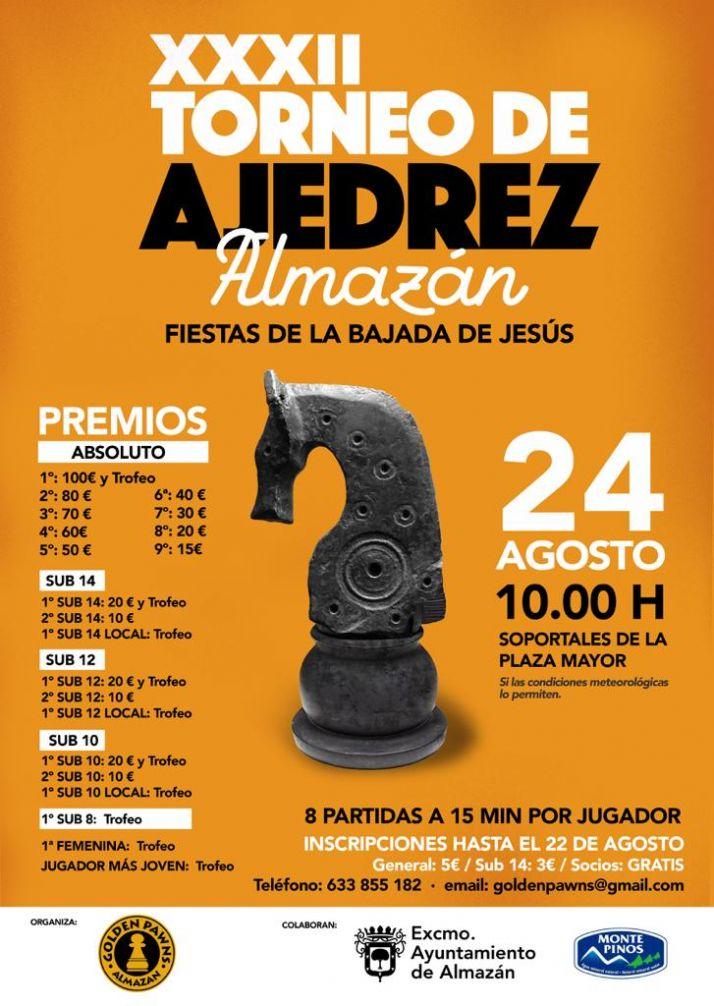 Foto 1 - El día 24 se celebra el Torneo de Ajedrez de la Bajada de Jesús de Almazán