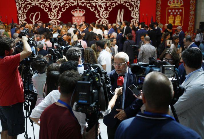 Foto 1 - Igea asegura en la toma de posesión de los consejeros de Madrid que es un día de celebración para ambas comunidades