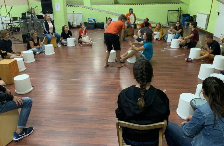 Foto 1 - 31 jóvenes europeos participan en Improvesation en Soria