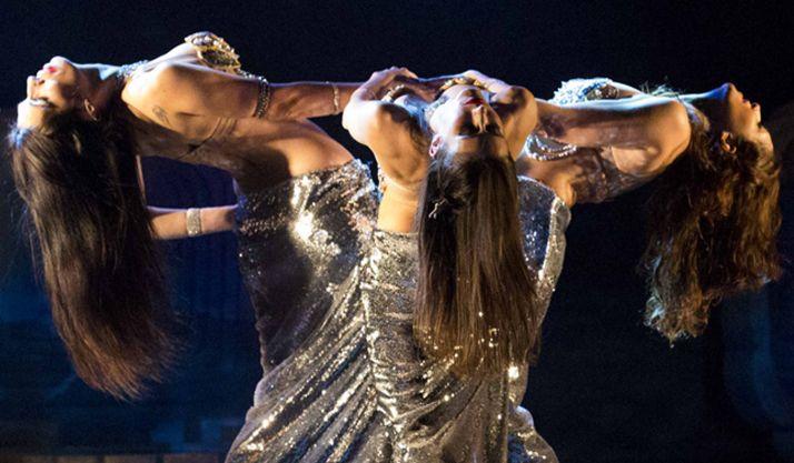 El ballet 'Exotic', en la noche del sábado.