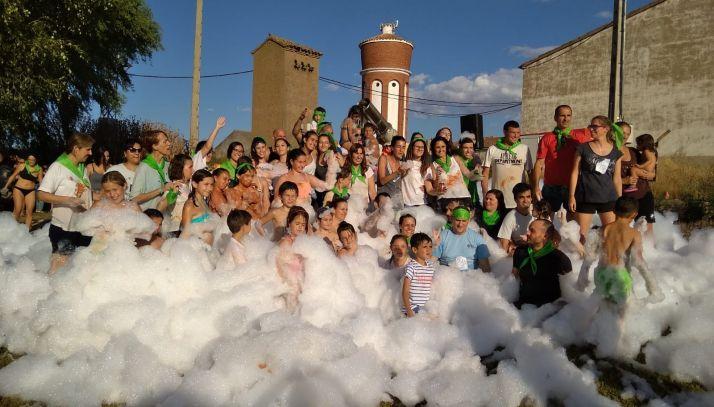 Fiestas durante la pasada edición, 2018, en Cubo de la Solana.