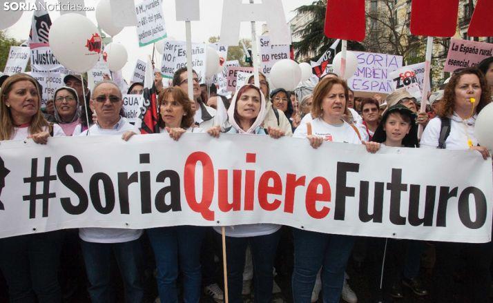 La Soria Ya y Teruel Existe se reúnen mañana con Pedro Sánchez