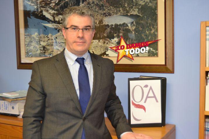 Óscar Alfageme, de la Gestoría Alfageme.