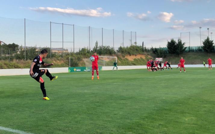 El Numancia gana al Logroñés en el quinto de la pretemporada