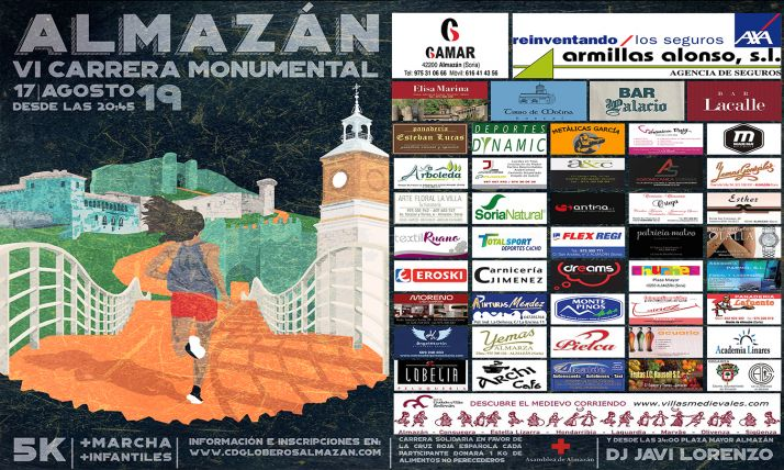 Foto 1 - La Carrera Monumental de Almazán, el 17