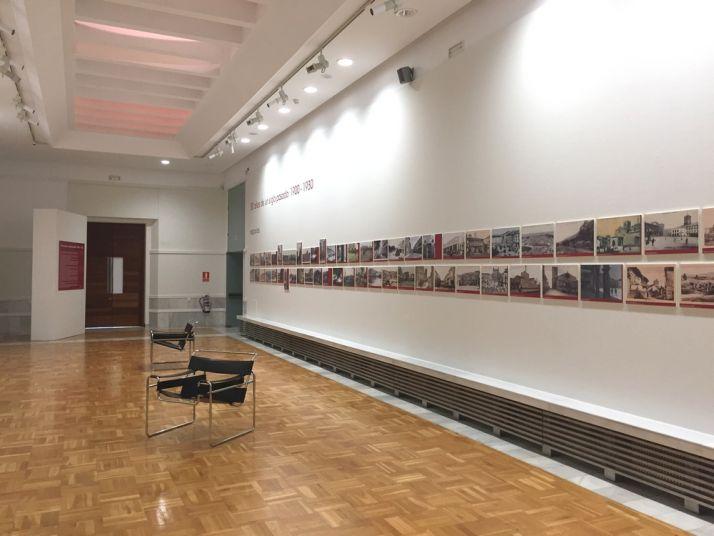 Sala de la exposición '30 años de un siglo pasado' en el Museo Numantino. Junta de Castilla y León