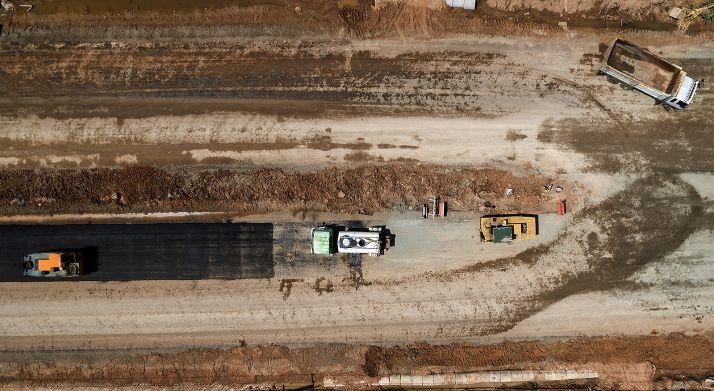 Las obras de la A-11 llevan a reordenar el tráfico en la N-122 entre San Esteban y Langa durante dos meses