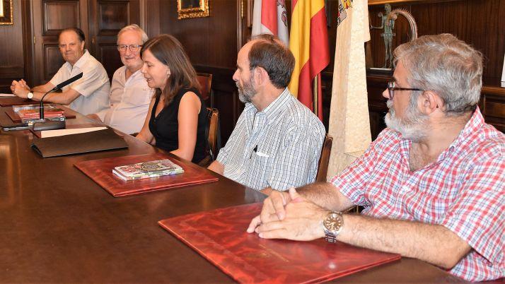 Solano, entre Bárez y Martín (izda.) y Martínez e Ibáñez. /Ayto.