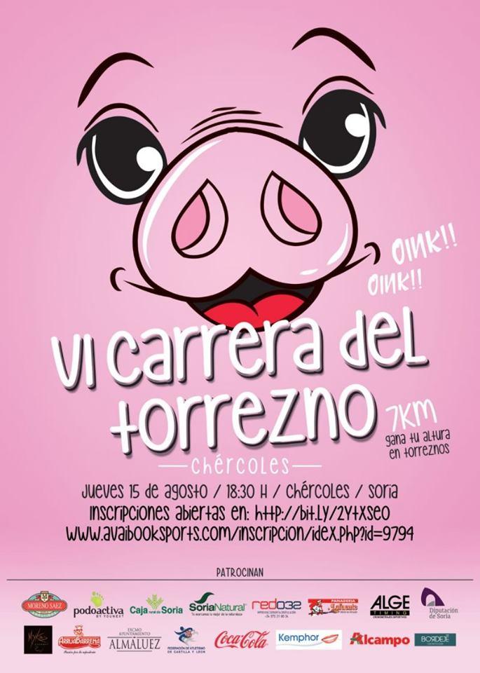 Foto 2 - Chércoles celebra el 15 su 'Carrera del Torrezno'