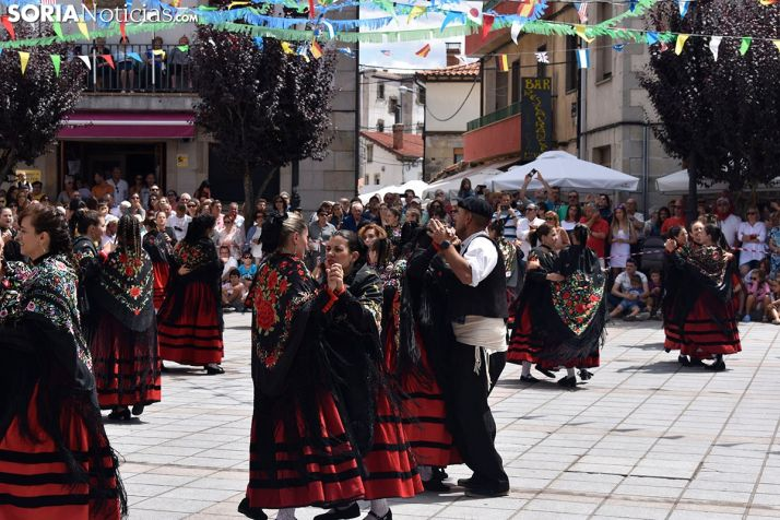 Baile de la Jota en Covaleda.