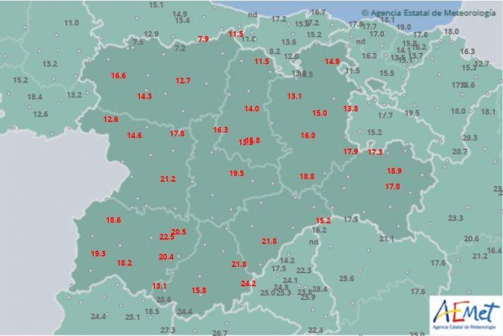 Foto 1 - Notable bajada de las temperaturas