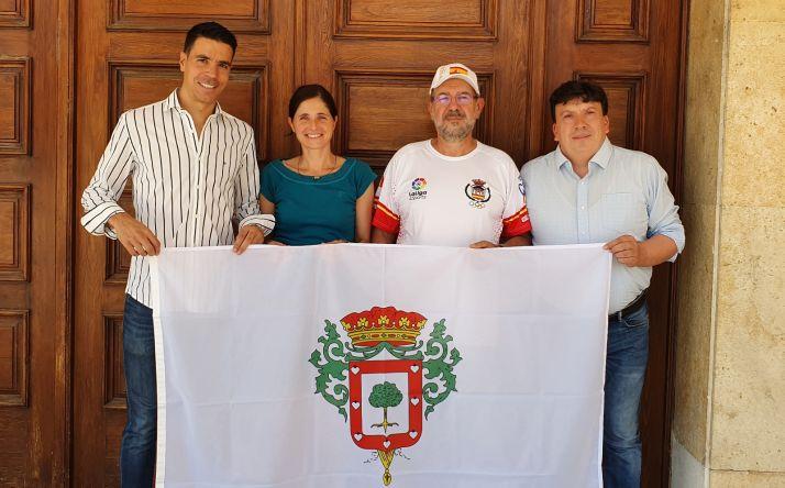 Ricardo García se despide de Almazán antes de la cita mundialista.