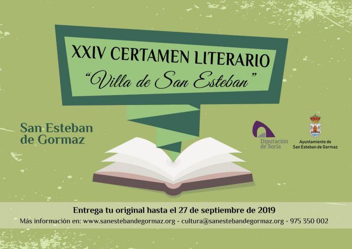 Foto 1 - Convocado el Certamen Literario Villa de San Esteban