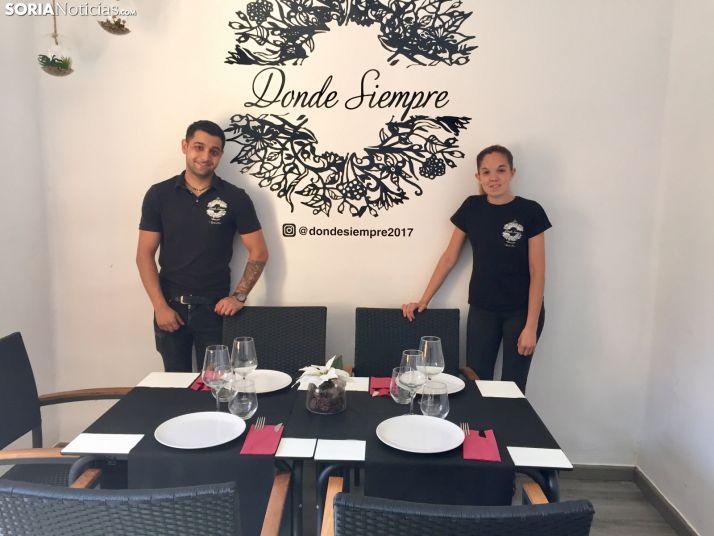 Restaurante Donde Siempre. SN