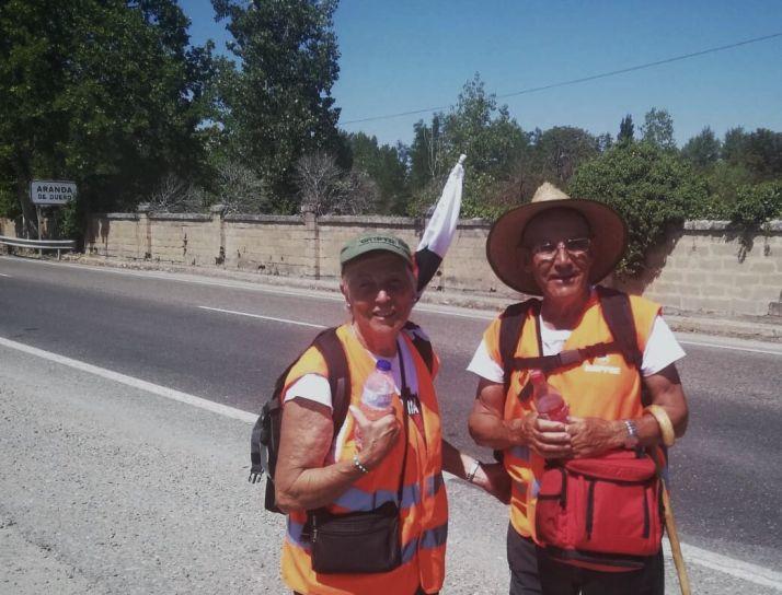 Juan Antonio y Caty esperan ya a los sorianos en Aranda de Duero