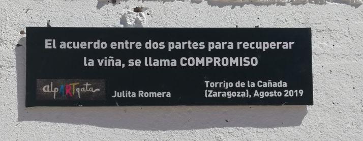 'Las manos de la Tierra' llegan a Torrijo de la Cañada.