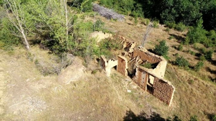 Foto 1 - Los vecinos de Serón descubren la historia del río Nágima a vista de dron
