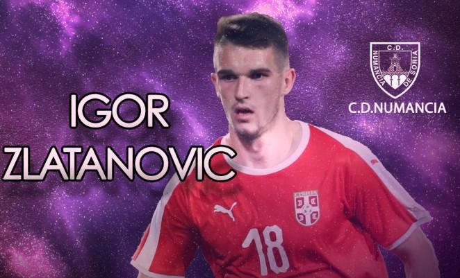 Foto 1 - Zlatanovic llega al Numancia en calidad de cedido