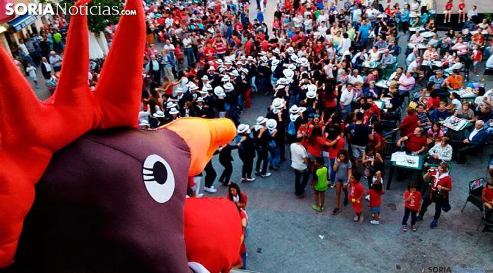 Imagen de archivo del pregón de las fiestas de La Juventud de Ágreda.