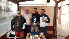 En Dombellas, Adrián García Laseca se proclama campeón del Campeonato Provincial de salm&