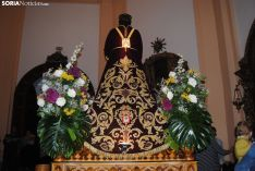 Foto 2 - Fotos: En Almazán, pasión y devoción en la procesión de la Bajada de Jesús 2019